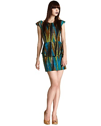 Loeffler-randall-peplum-dress
