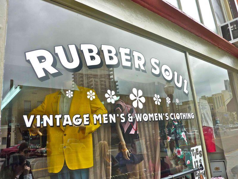 Rubber soul store