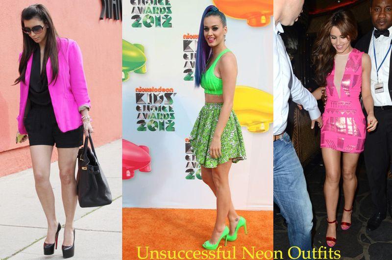 Celebrities-neon-colors