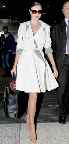 Miranda-Kerr-trench-dress