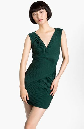 BCBG-green-dress