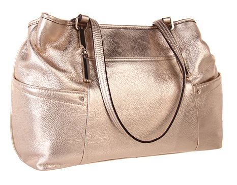 Metallic-purse