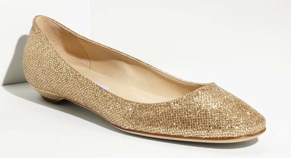 Gold-ballet-flat