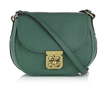 Green-crossbody-bag