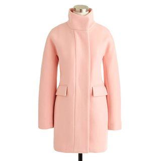 Pink-colored-coat-jcrew
