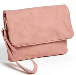 Pink-cross-body-clutch
